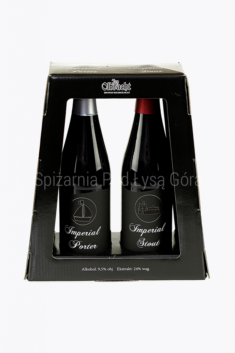 Zestaw Imperial Porter + Imperial Stout 2 x 330ml
