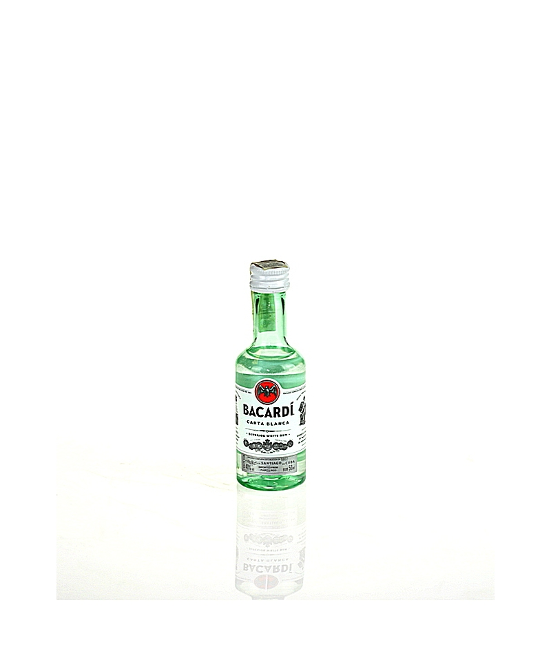 Bacardi Carta Blanca White Rum 50ml