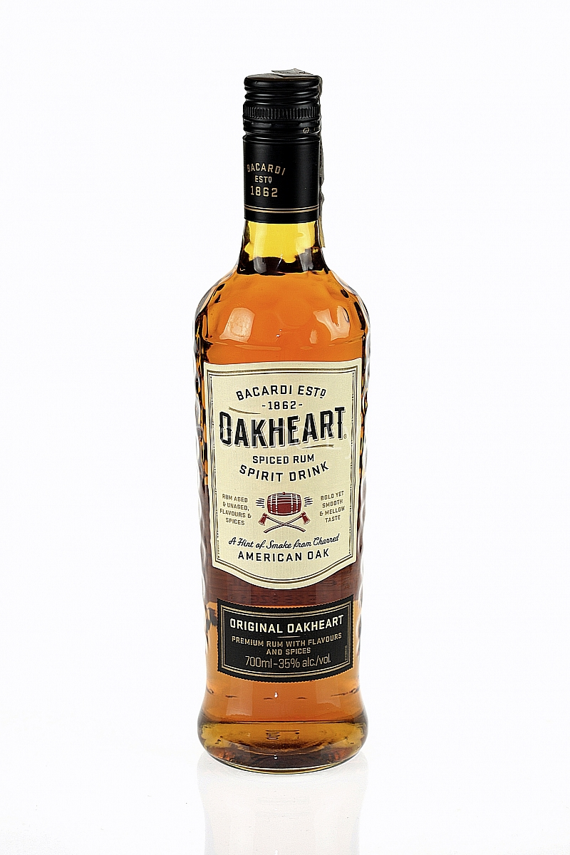 Bacardi Oakheart Original Rum 0,7 l