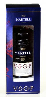 Cognac Martell VSOP 0,7 l + szklanka