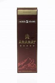 Brandy Ararat 5* 0,5L