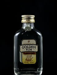 Rum Golden Płaski 0,1 l