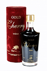 Wódka Dębowa Polska Gold Cherry 0,7 l Tuba