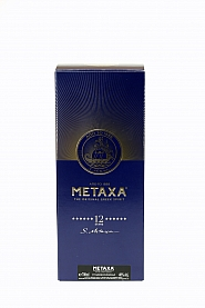 Brandy Metaxa 12* 0,7 l Karton
