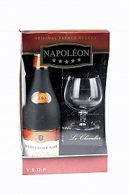 Brandy Napoleon Le Chevalier 0,7 l + kieliszek